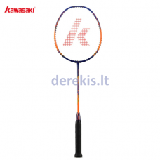 Badmintono raketė Kawasaki Ninja x266 orange/yellow