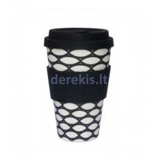 Bambuko puodelis Ecoffee cup Basketcase, 400 ml