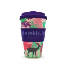 Bambuko puodelis Ecoffee cup Frankly My Dear, 400 ml