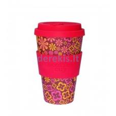 Bambuko puodelis Ecoffee cup Yeah Baby, 400 ml