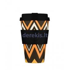 Bambuko puodelis Ecoffee cup ZigNZag, 400 ml