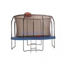 "Batutas 10"", 305 cm (su tinklu kopėčiomis ir krepšinio lenta)"