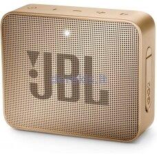 Belaidė garso kolonėlė JBL GO 2, šampano