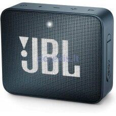 Belaidė garso kolonėlė JBL GO 2, tamsiai mėlyna