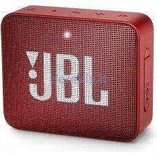 Belaidė garso kolonėlė JBL GO 2, raudona