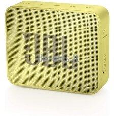 Belaidė garso kolonėlė JBL GO 2, geltona