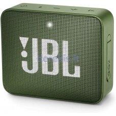 Belaidė garso kolonėlė JBL GO 2, žalia
