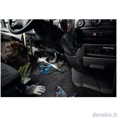 Belaidis dulkių siurblys Bosch GAS 12V Professional, 06019E3002 4