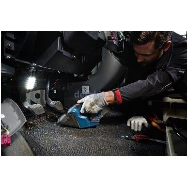 Belaidis dulkių siurblys Bosch GAS 12V Professional 06019E3001 4