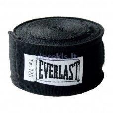 Bintai boksui Everlast Pro Style 300cm (2vnt.) - Black