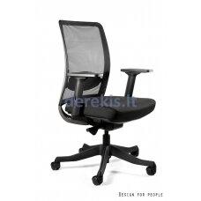 Biuro kėdė Unique 1198-BL-SM01, seat fabric, black