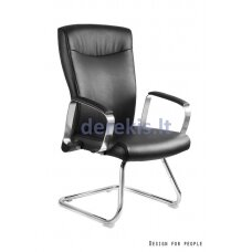 Biuro kėdė Unique ADELLA SKID-PU, eco-leather