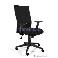 Biuro kėdė Unique BLACK ON BLACK PLUS W-93A-P-LF