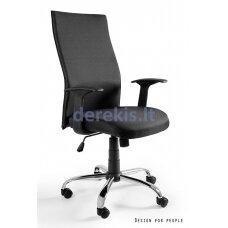 Biuro kėdė Unique BLACK ON BLACK FABRIC W-93A-NL