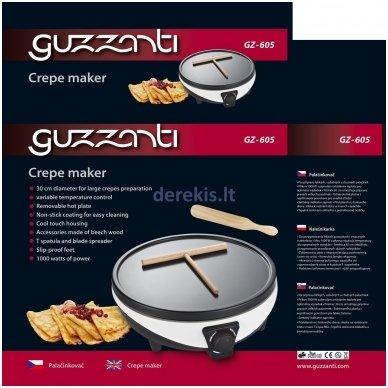 Blynų keptuvė Guzzanti GZ-605 2