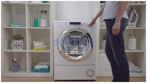 CANDY предлагает уникальное, очень  удобное решение для сушильных машин