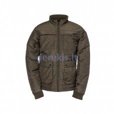 Darbinė striukė CAT Terrain Jacket, haki spalvos, XL dydis