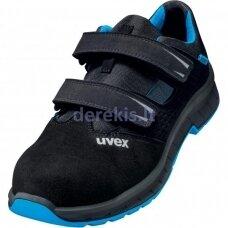 Darbo sandalai Uvex 2 Trend 69368 S1, 40 dydis. PU padas, kompozitinė pirštų apsauga