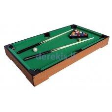 Daugiafunkcis žaidimų stalas Mini Pool TBSM-130302