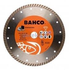 Deimantinis diskas betonui, turbo, Bahco 125x2.5x22.23mm