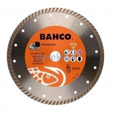 Deimantinis diskas betonui, turbo, Bahco 230x3.2x22.23mm