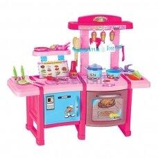 "Didelė virtuvė su indais ir garsais ""Kitchen Set"", 78x60 cm"