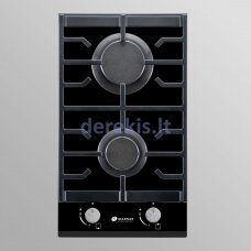 Domino dujinė kaitlentė Allenzi PG3020BG B, juoda