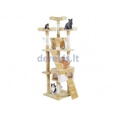 Draskyklė katėms, 170 cm, kreminė