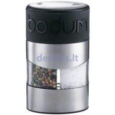 Druskos ir pipirų malūnėlis Bodum TWIN 11002-01
