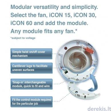Drėgnomačio/Laikmačio modulis Airflow ICON HTM 2