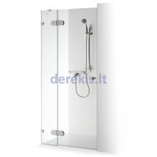 Dušo durys nišoms su sienele Baltijos Brasta Ieva Plius (dydį ir stiklo spalvą galima pasirinkti)