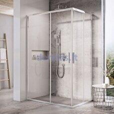 Dušo durys Ravak Blix Slim BLSRV2K-120, X1XMG0C00Z1 blizgi+stiklas Transparent