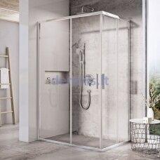 Dušo durys Ravak Blix Slim BLSRV2K-90, X1XM70C00Z1 blizgi+stiklas Transparent