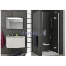 Dušo durys RAVAK SMSD2-110 (A) R chromas+stiklas Transparent (0SPDAA00Z1)