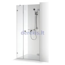 Dušo durys su sienele Baltijos Brasta IRMA (dydį ir stiklo spalvą galima pasirinkti)