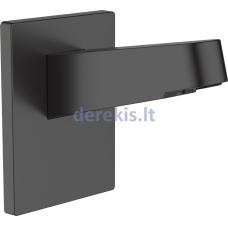 Dušo galvos laikiklis - sieninė jungtis Hansgrohe Pulsify 24149670, matinė juoda