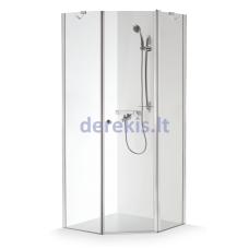 Dušo kabina Baltijos Brasta Lina (dydį ir stiklo spalvą galima pasirinkti)