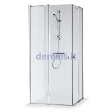 Dušo kabina Baltijos Brasta Sima (dydį ir stiklo spalvą galima pasirinkti)