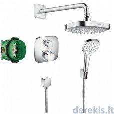 Potinkinis dušo komplektas Hansgrohe Croma Select E180, 27294000