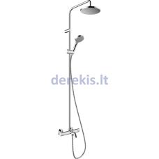 Hansgrohe Vernis Blend, Showerpipe 200, 1jet EcoSmart, 26079000