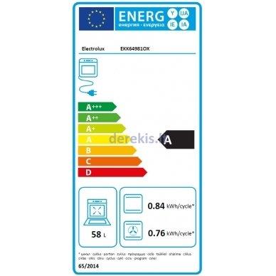 Dujinė viryklė Electrolux EKK64981OX 8