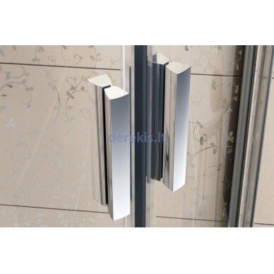 Dušo durys Ravak BLDP2-120 blizgi+stiklas Transparent 0PVG0C00Z1 3