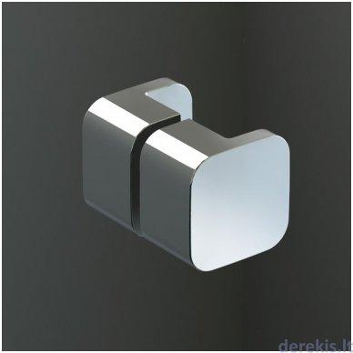 Dušo durys RAVAK BSD3-110 R chromas+stiklas Transparent 0UPD0A00Z1+D01000A087 2
