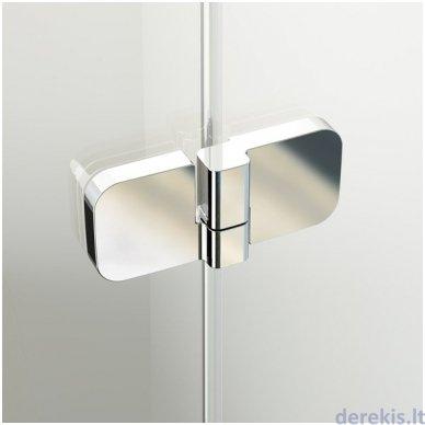 Dušo durys RAVAK BSD3-110 R chromas+stiklas Transparent 0UPD0A00Z1+D01000A087 3