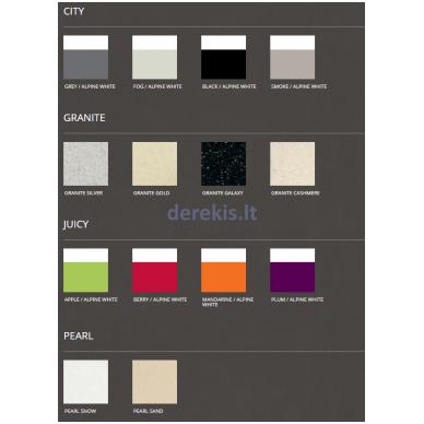 Dušo padėklas PAA LARGO 80 × 160 (spalvą galima pasirinkti) 3