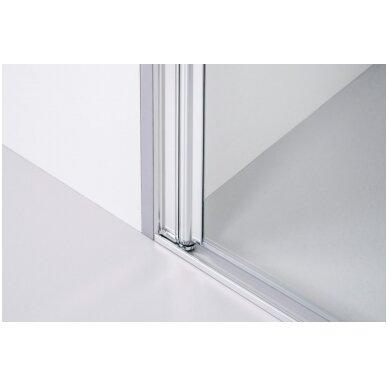 Dušo sienelė Baltijos Brasta RITA (dydį ir stiklo spalvą galima pasirinkti) 2