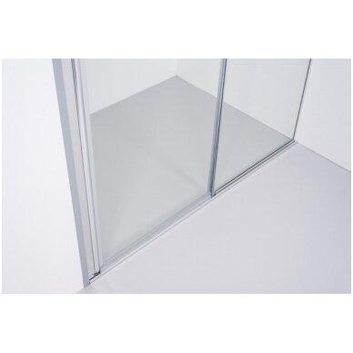 Dušo sienelė Baltijos Brasta RITA (dydį ir stiklo spalvą galima pasirinkti) 3