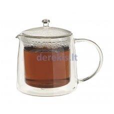 Dvigubo stiklo arbatinukas Gusta