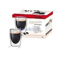 Scanpart ESPRESSO dvigubo stiklo stiklinės 2 x 80 ml