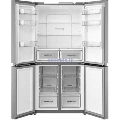 Dviduris šaldytuvas Daewoo RMM700WGW 3